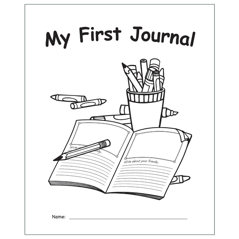 My Own Books: My First Journal