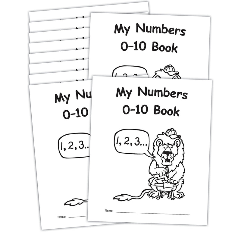 My Own Books My Numbers 0-10 10pk