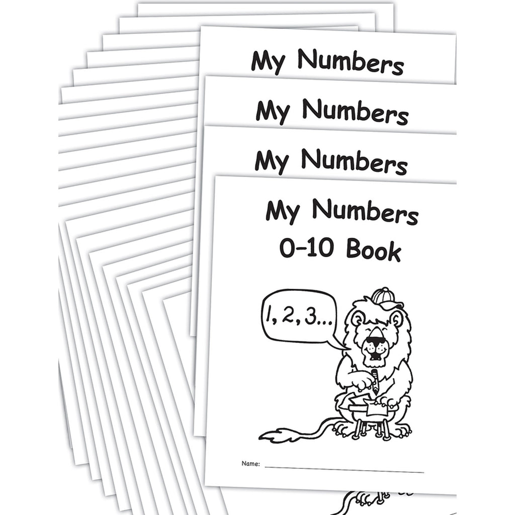 My Own Books: My Numbers 0-10 25pk