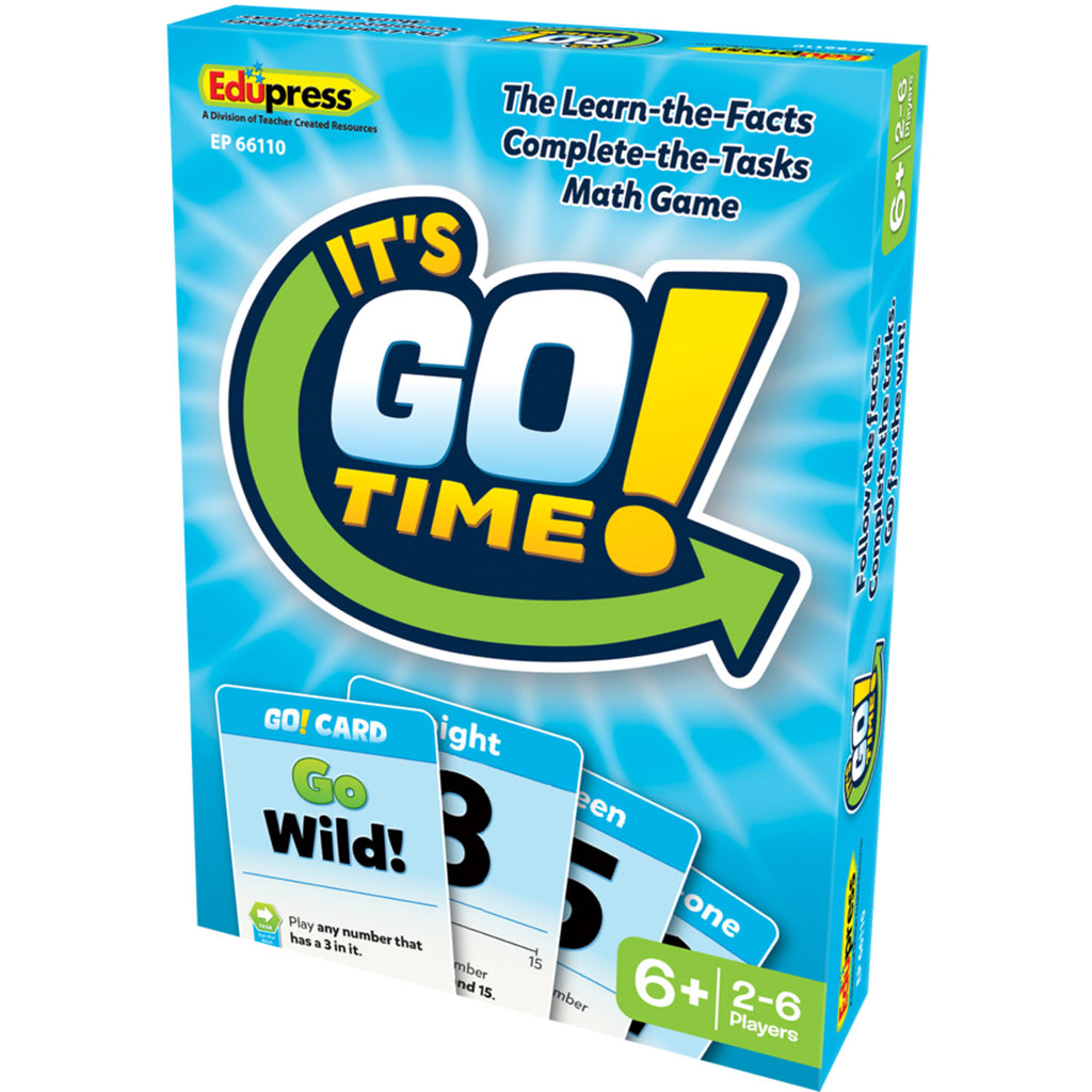 Its Go Time Card Game