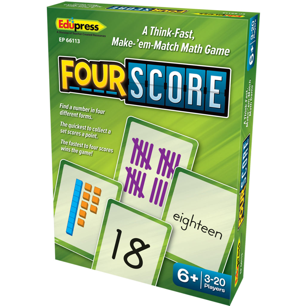 Four Score Dice Game
