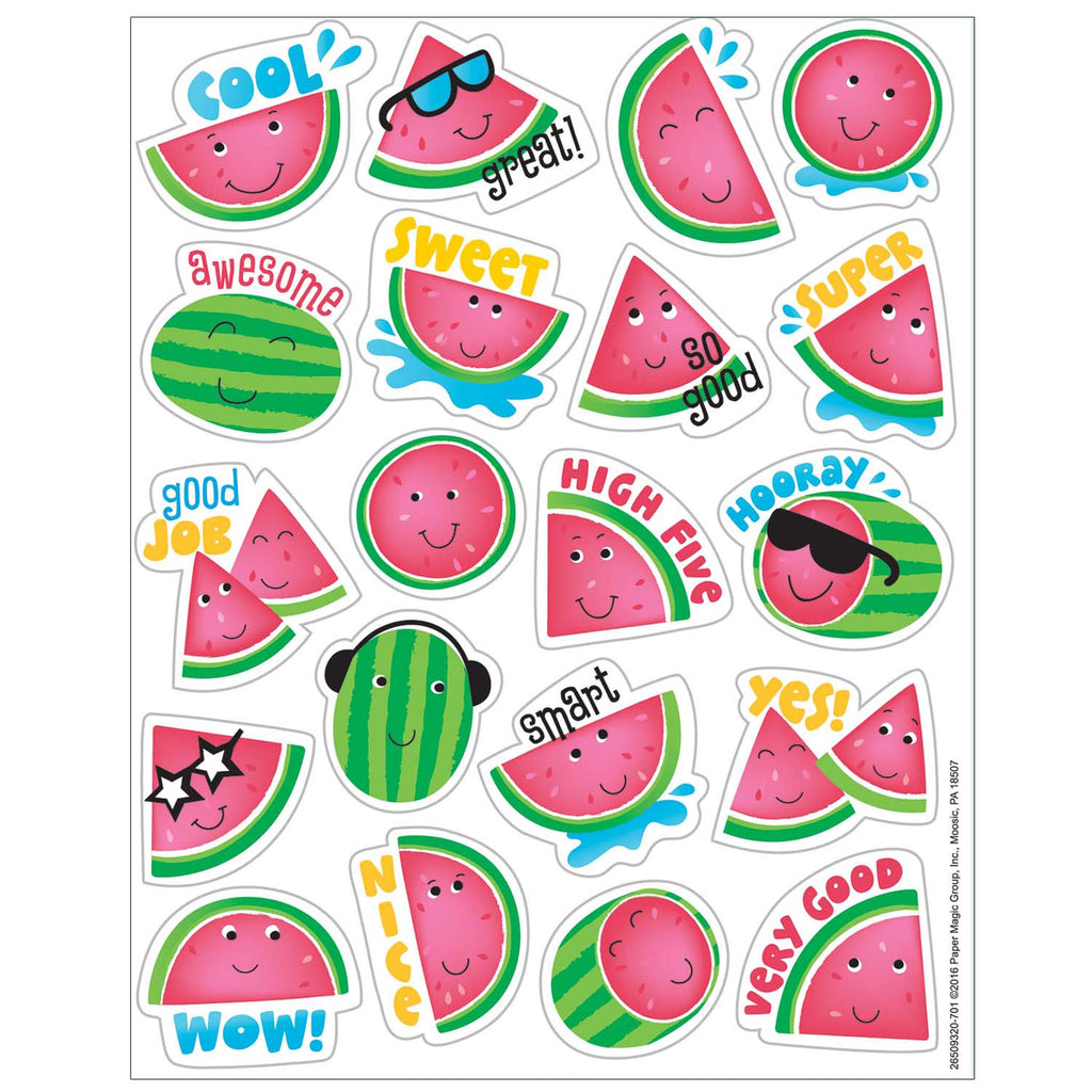 Watermelon Scented Stickers