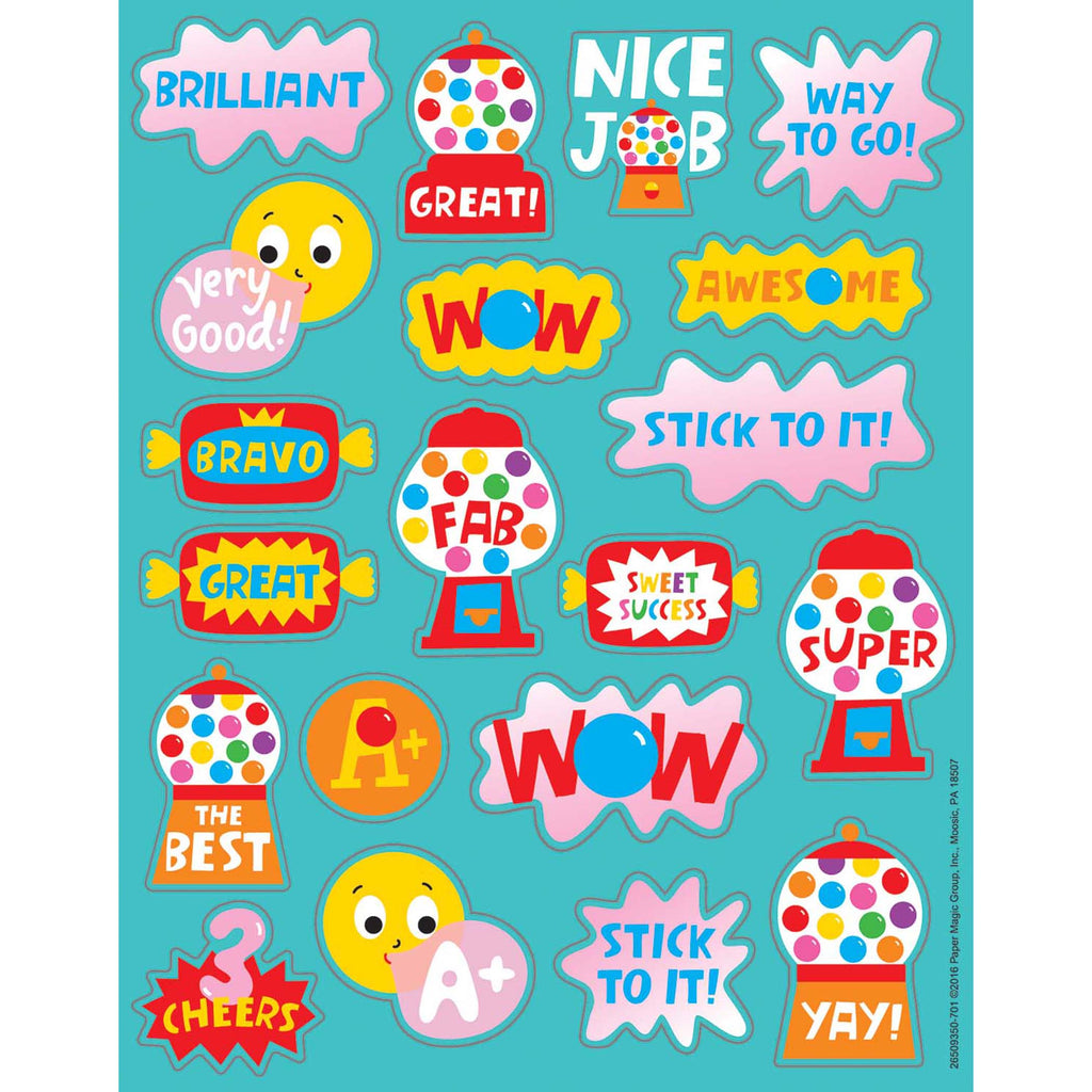 Bubblegum Scented Stickers
