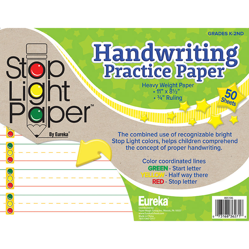 Stop Light 50ct Practice Paper