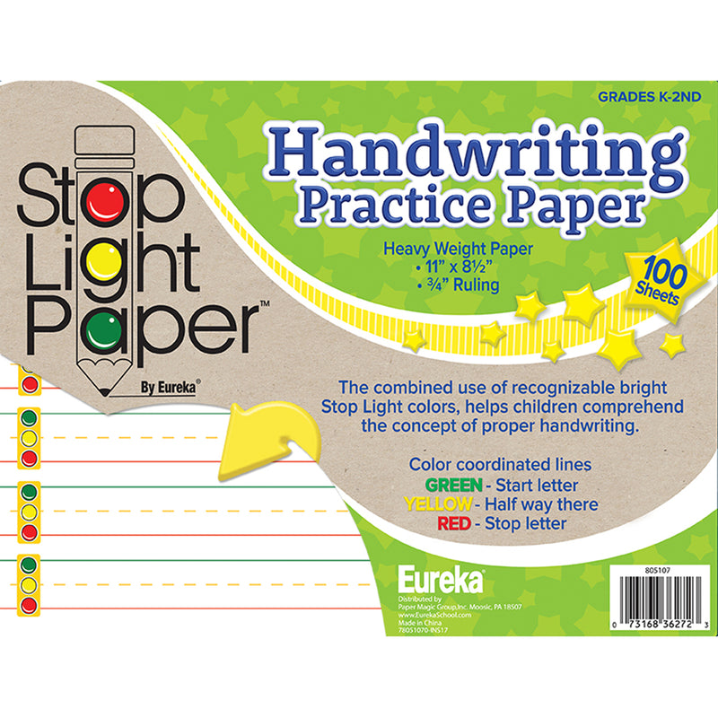 Stop Light 100ct Practice Paper