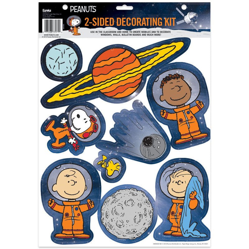 Peanuts Nasa 2 Sided Deco Kits