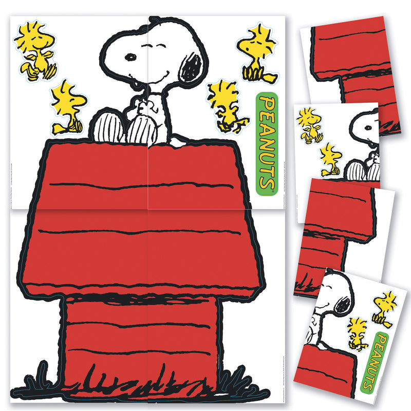(2 St) Giant Character Snoopy & Dog House Bb Set