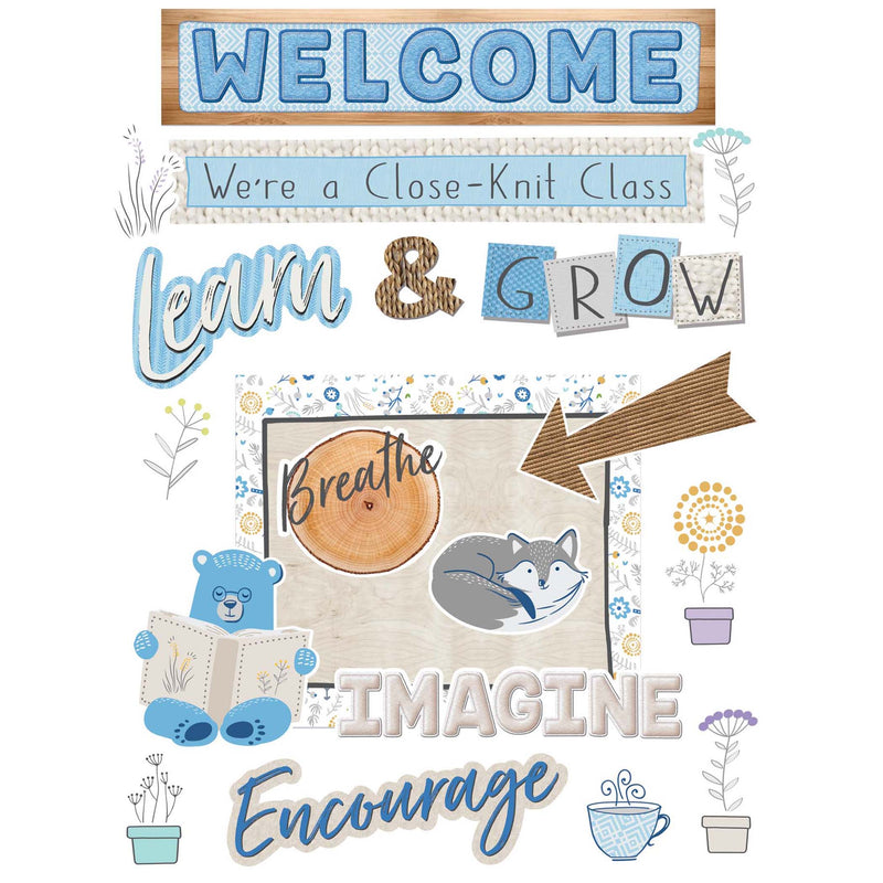 Welcome Set Bulletin Board Set A Close-knit Class