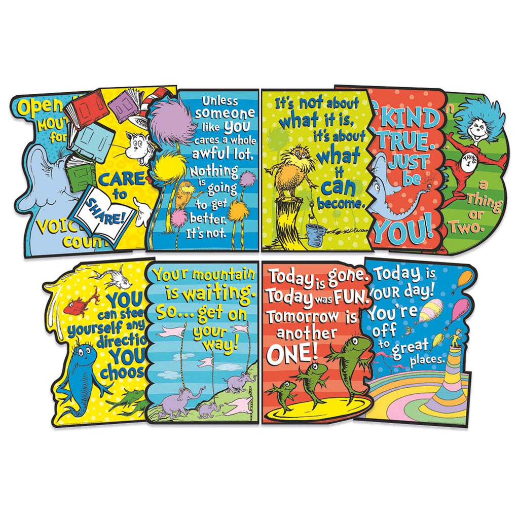 Dr Seuss Die-cut Poster Set