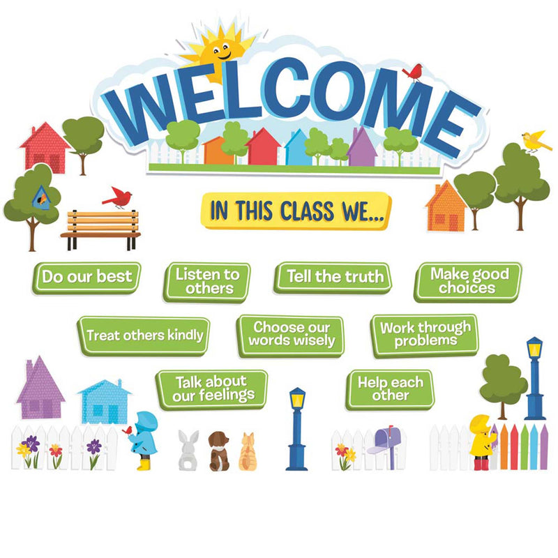 In This Class Welcome Set Bb Set A Teachable Town
