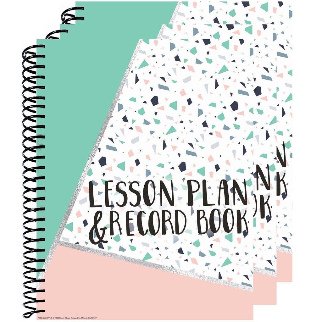 (3 Ea) Lesson Plan & Record Book Simply Sassy