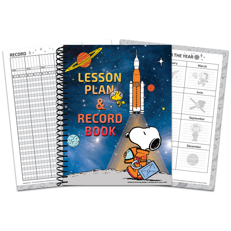 Peanuts Nasa Lesson Plan Book