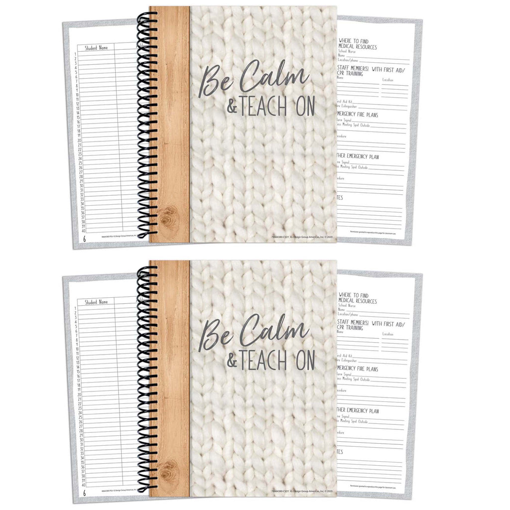 (2 Ea) Lesson Plan & Record Book A Close-knit Class