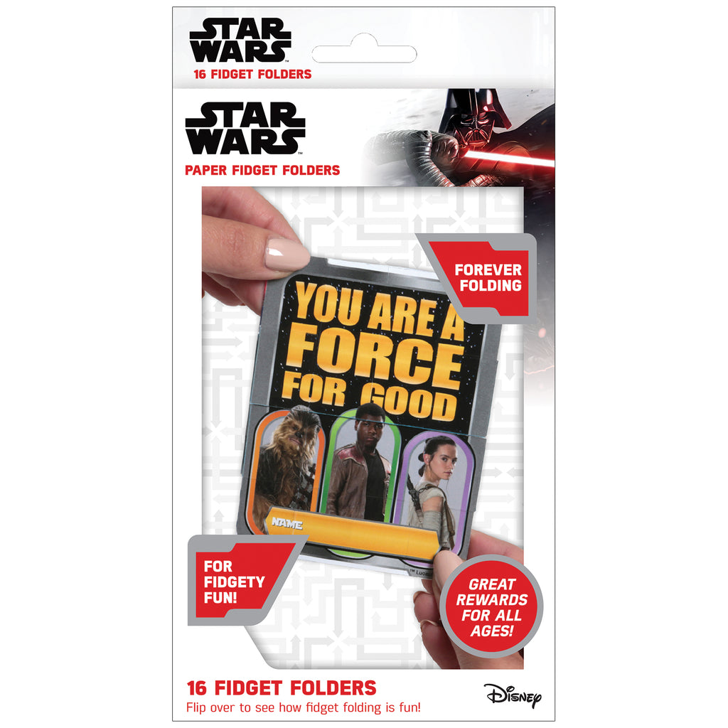 (6 Pk) Fidget Folders Star Wars