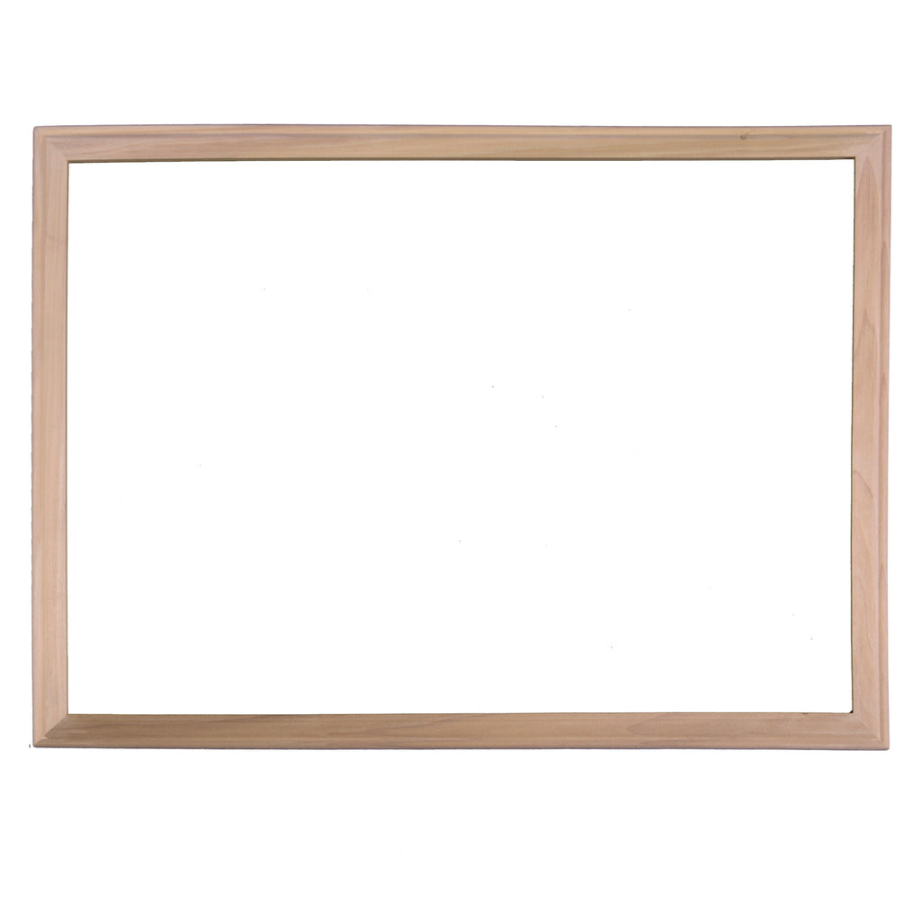 Wood Framed Dryerase Board 24x36
