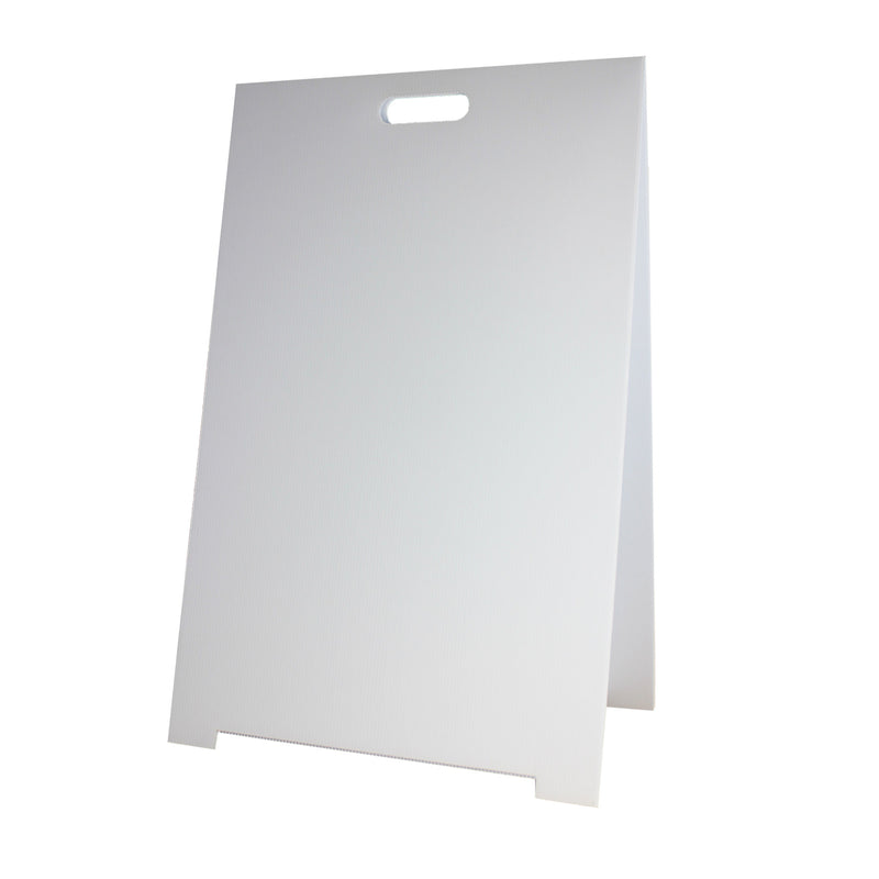 Corrugated Plastic Marquee Easel Dry Erase