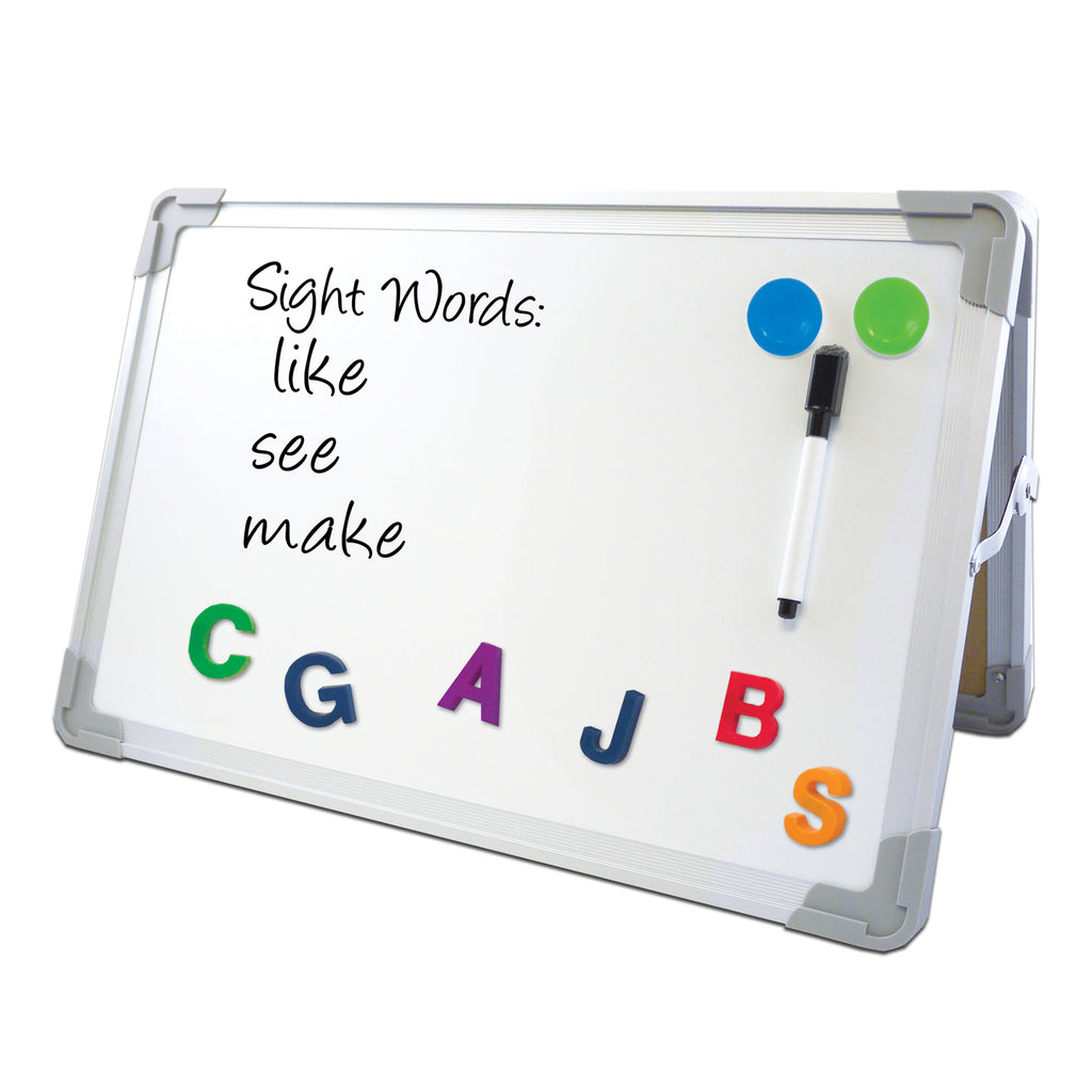 Magnetic Dry Erase Desktop Easel Set