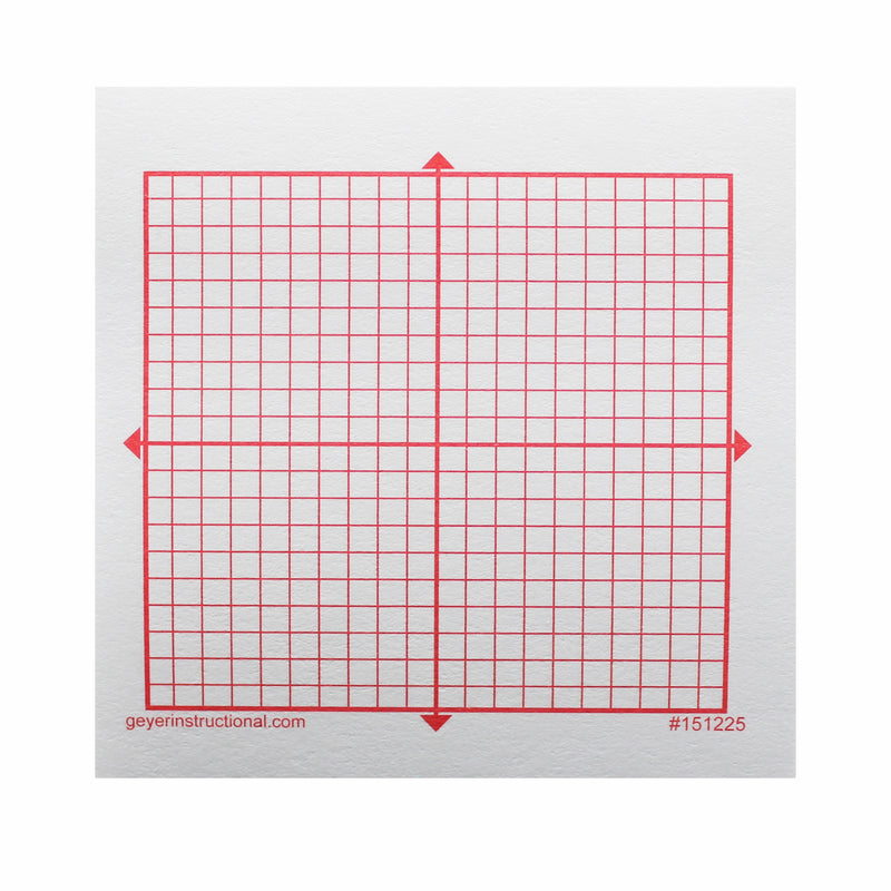 Graphng Post It Notes Xy Axis 20x20 Square Grid