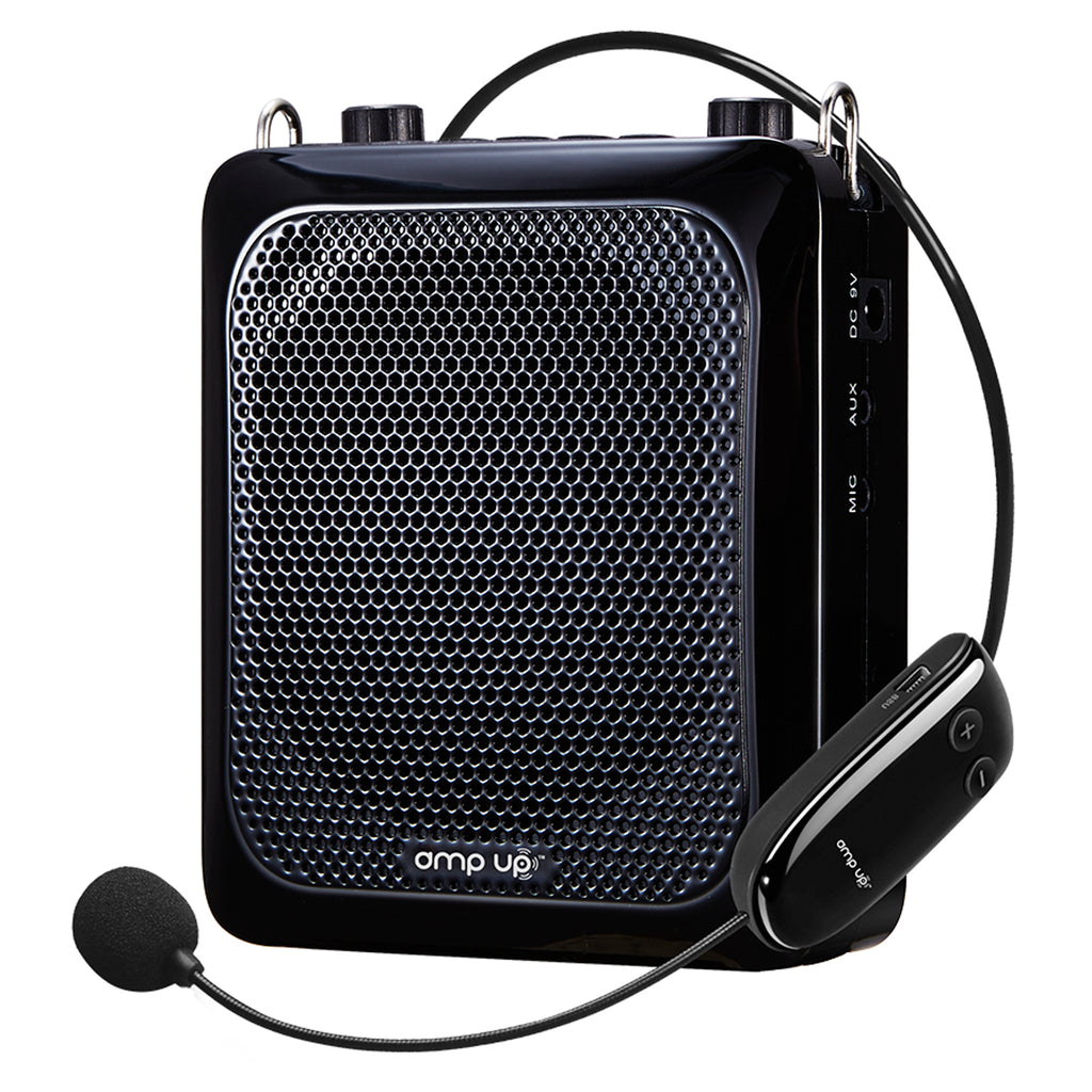 Amp-up Personal Uhf Voice Amplifier Wireless Microphone