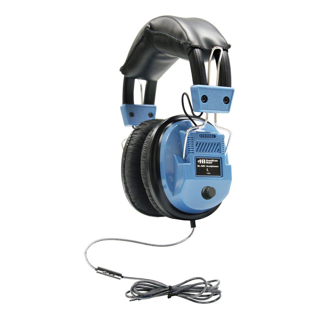 Icompatible Deluxe Headset W In Line Microphone