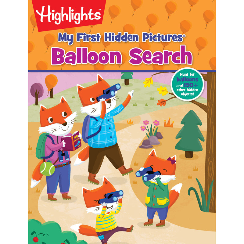 My First Hidden Pictures Balloon Search Highlights