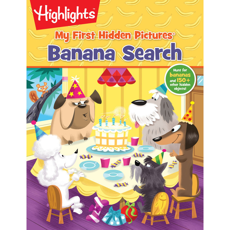My First Hidden Pictures Banana Search Highlights