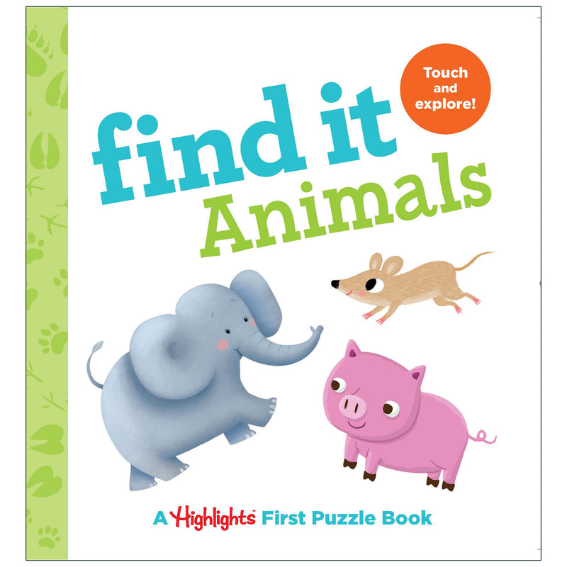 Find It Animals Board Book Highlights