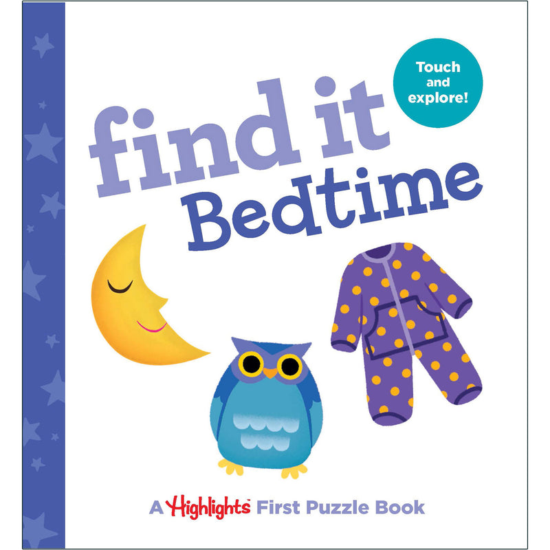 Find It Bedtime Board Book Highlights