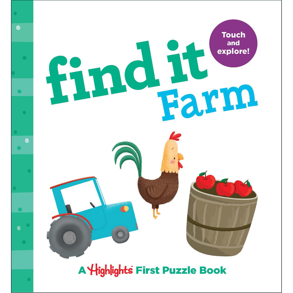 Find It Farm Board Book Highlights