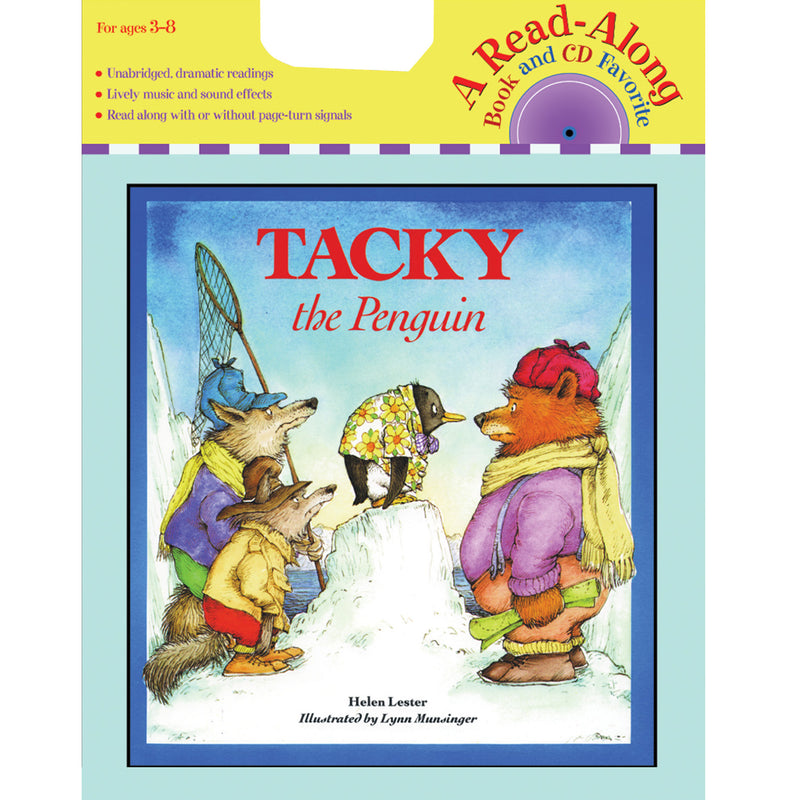 Carry Along Book & Cd Tacky The Penguin