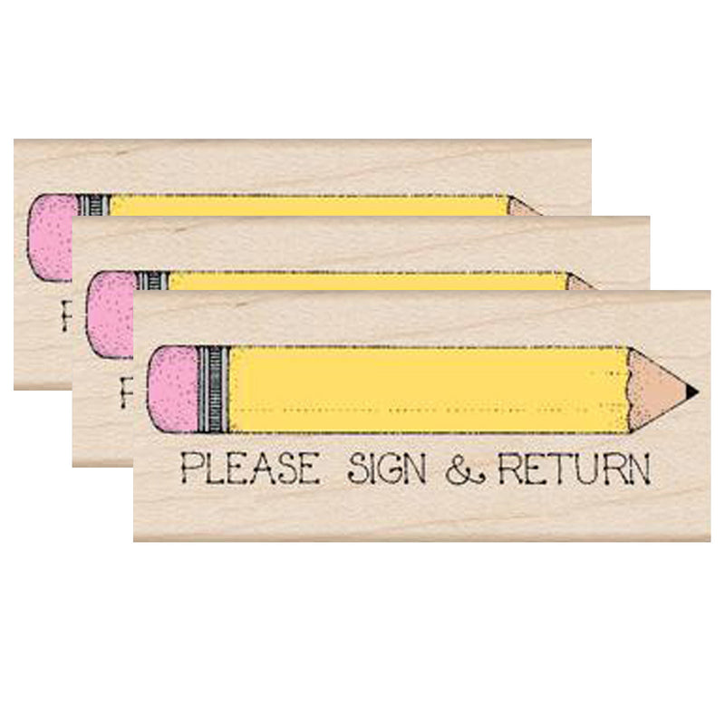 (3 Ea) Please Sign & Return Pencil