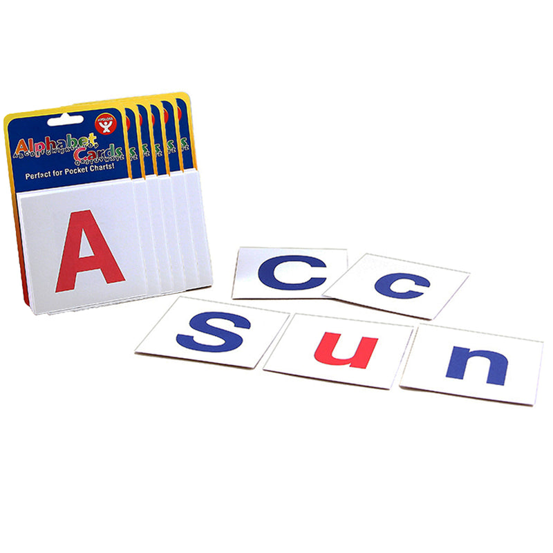 (6 Ea) Alphabet Cards Combo Pack