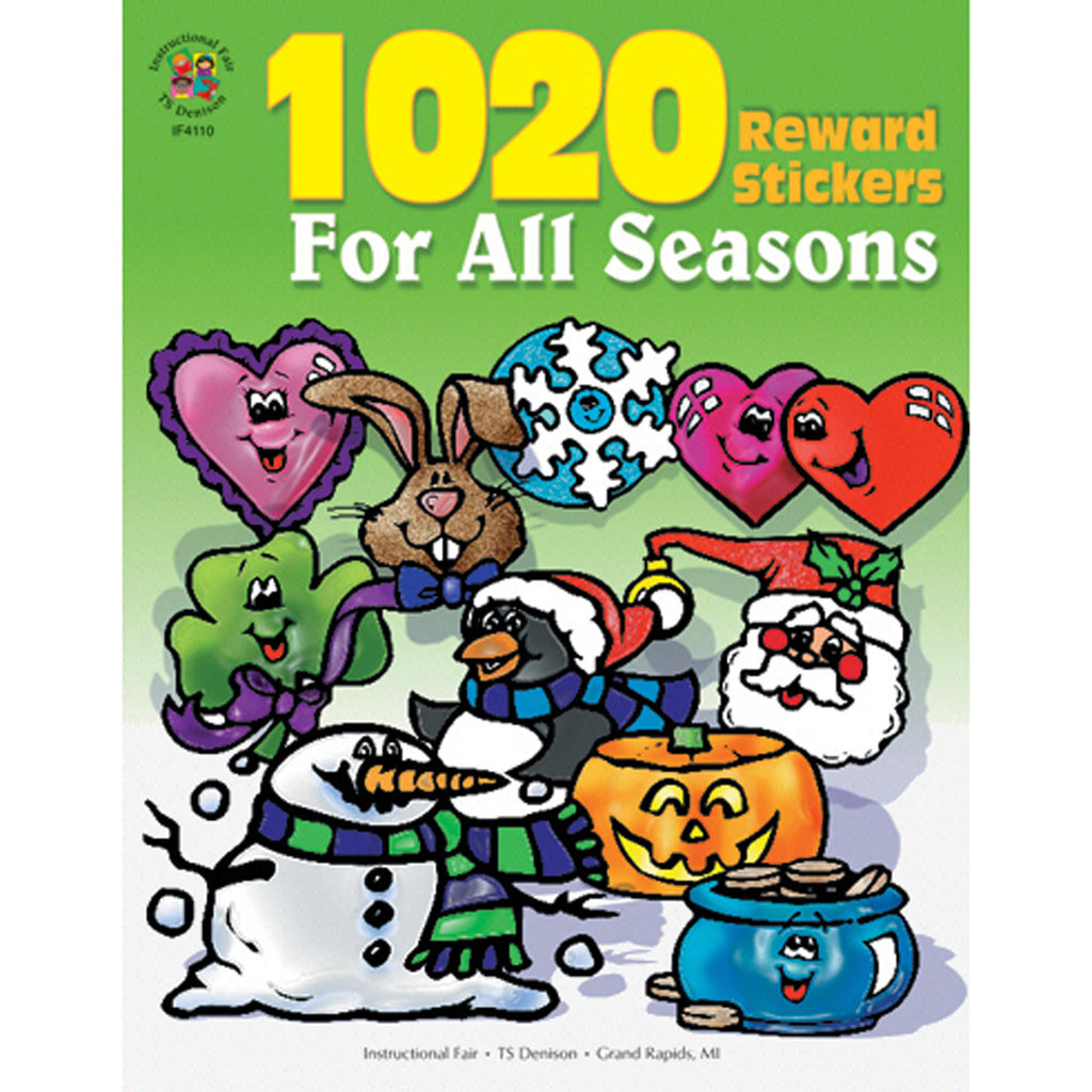 Sticker Book For All Seasons