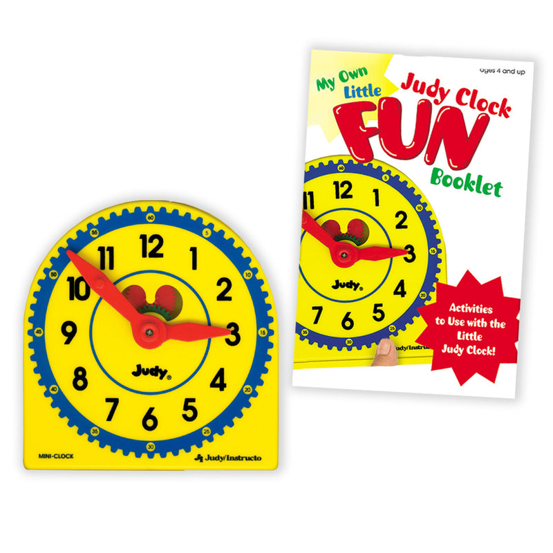 My Own Little Judy Clock W- Book Gr K-3 Booklet