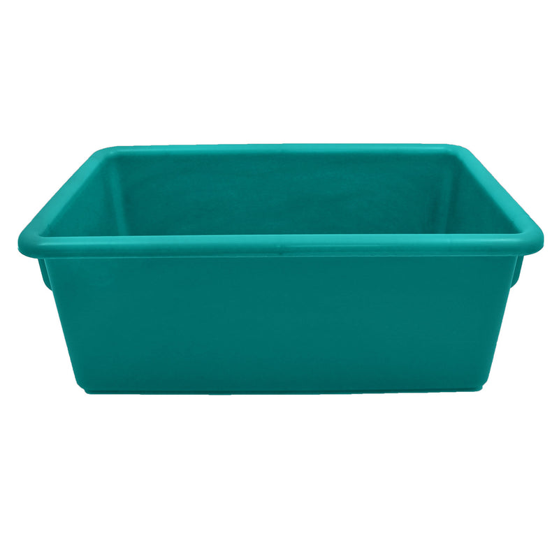 (6 Ea) Cubbie Trays Teal