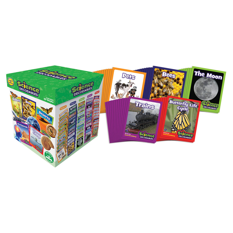 Science Decodables Non-fiction Boxed Set
