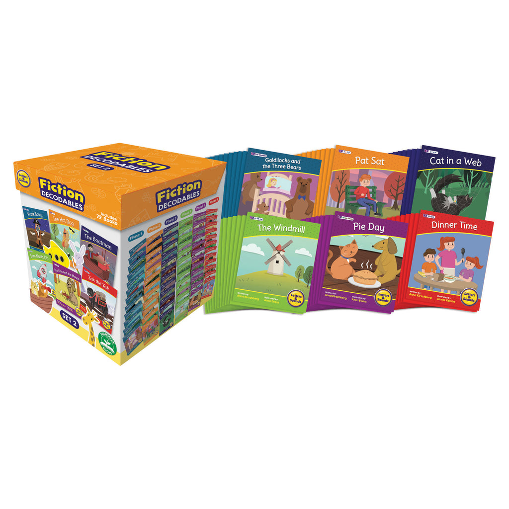 Letters & Sounds Set 2 Fiction Boxed Set
