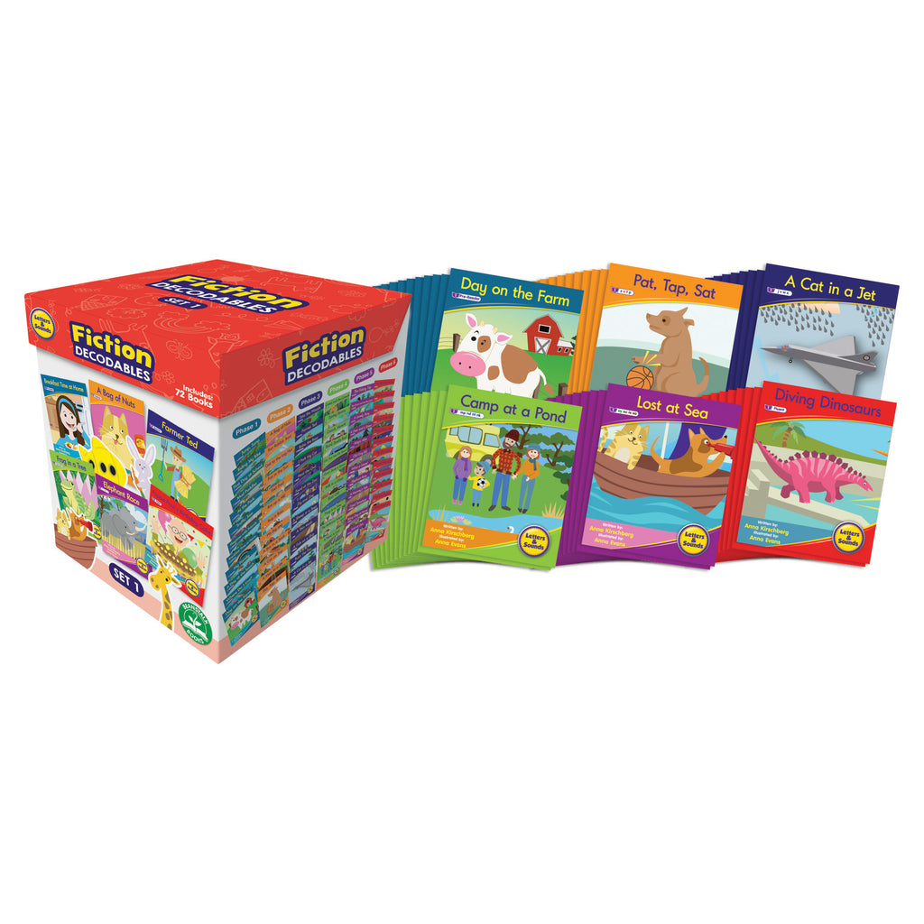 Letters & Sounds Set 1 Fiction Boxed Set