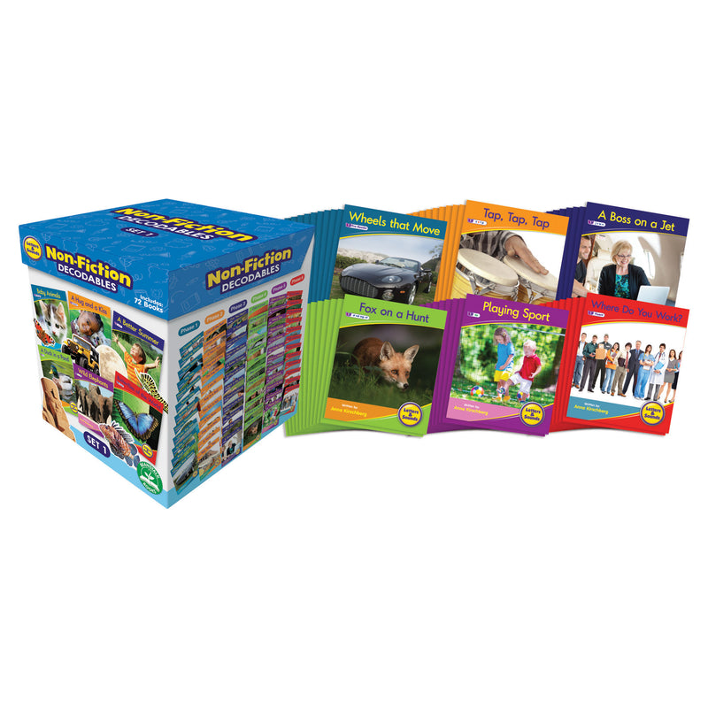 Letters & Sounds Set 1 Non-fiction Boxed Set