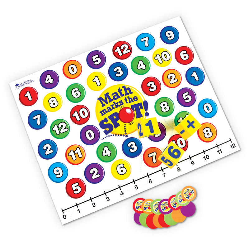 Math Marks The Spot A Math Activity Mat