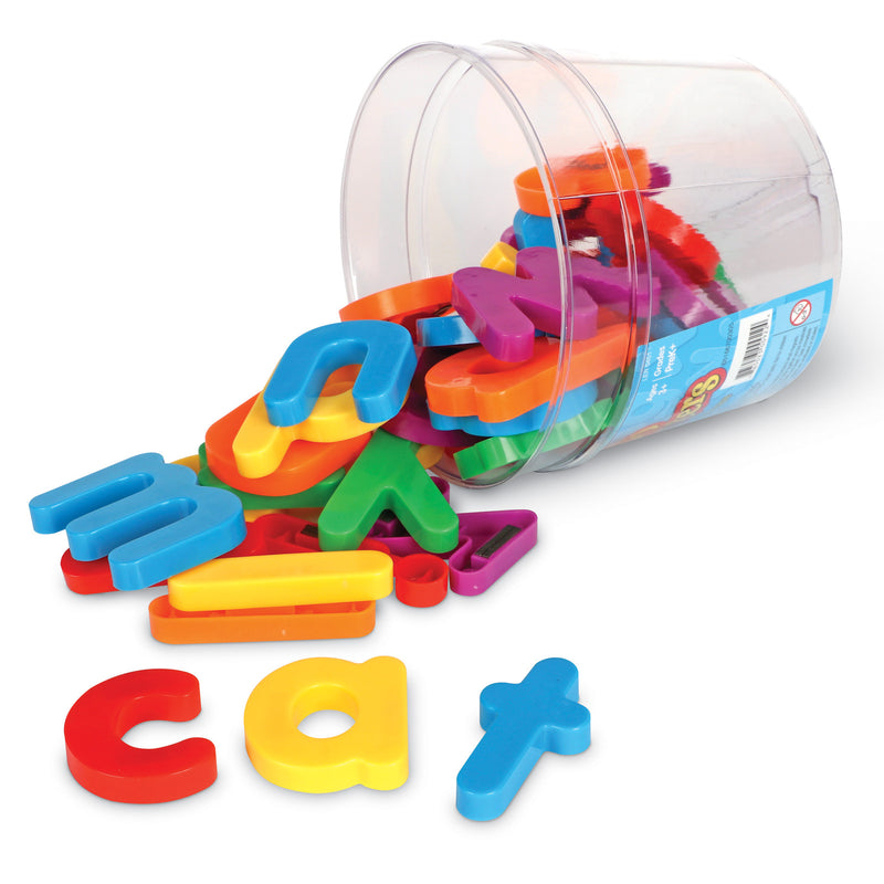 Jumbo Magnetic Letters 40-pk Lowercase 2-1-2 Bucket