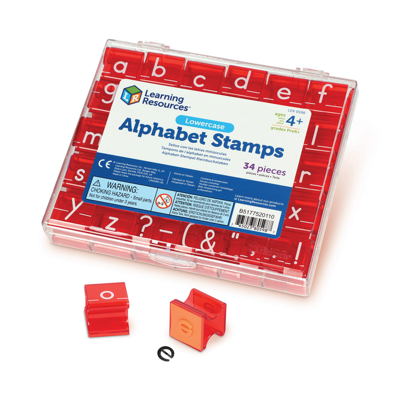 (2 St) Lowercase Alphabet & Punctuation Stamps