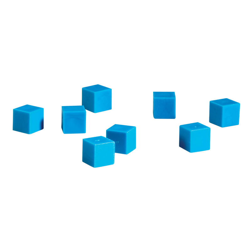 Base Ten Units Plastic Blue 100 Pk 1x1x1cm