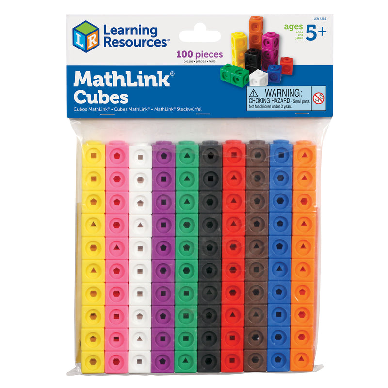 Mathlink Cubes Set Of 100