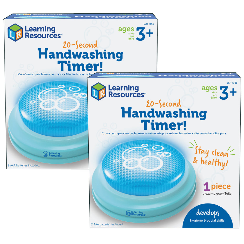 (2 Ea) 20-second Handwashing Timer