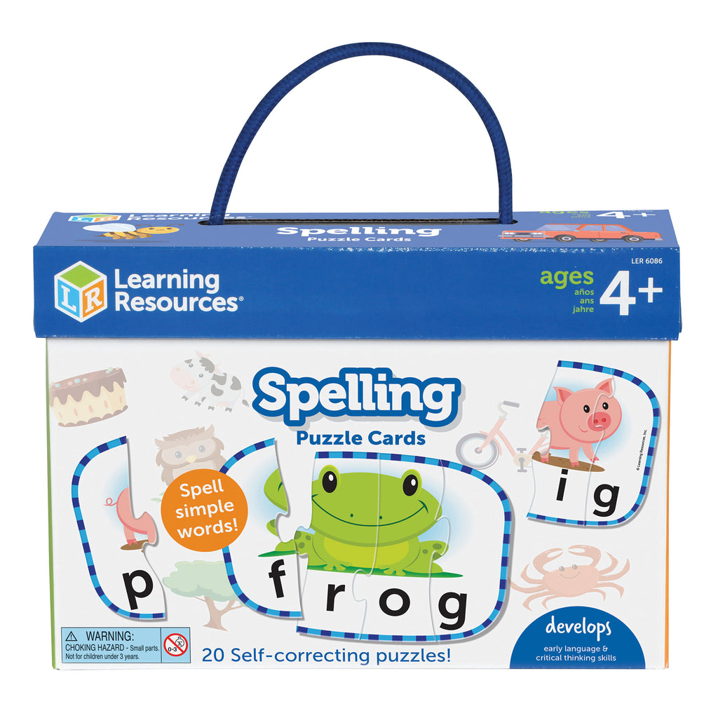 Spelling Puzzle Cards