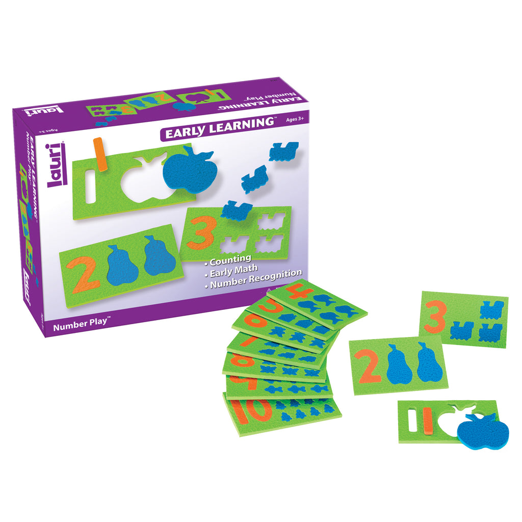 Number Play 10-pk Ages 3-6