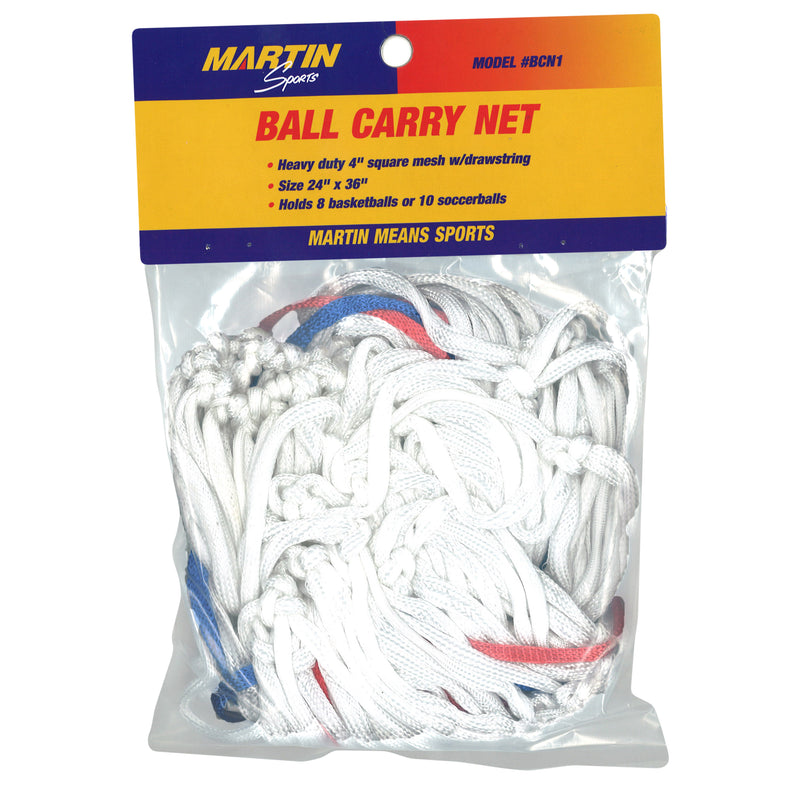 Ball Carry Net Bag 4 Mesh W- Drawstring 24 X 36