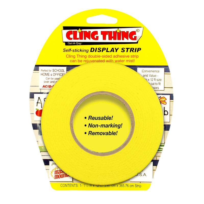 Cling Thing Display Strip Yellow