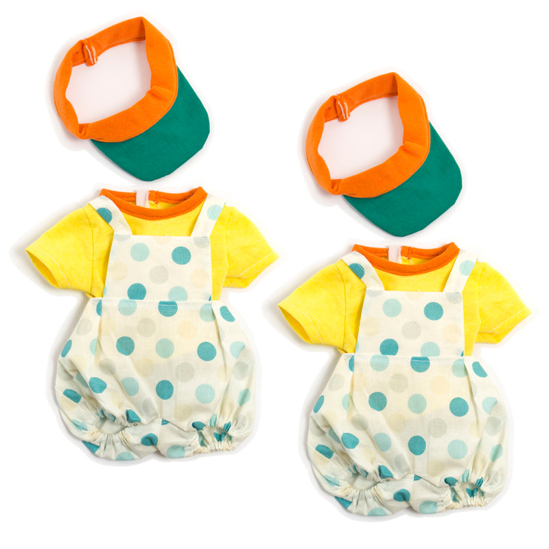 (2 Ea) Doll Clothes Boy Summer Outfit